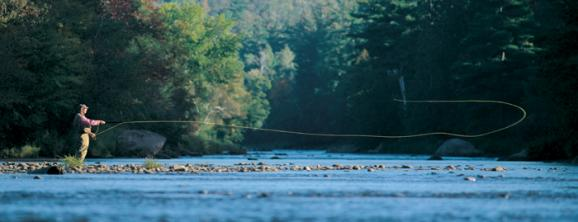 Bill Cairns was a pioneer in fly-fishing instruction and a Master Caster.