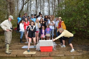 Trout Release
