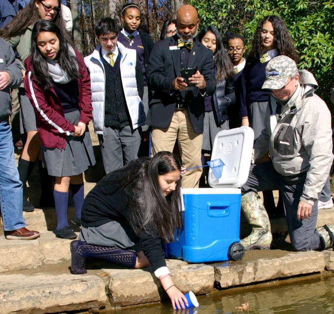 tic-school-trout-release
